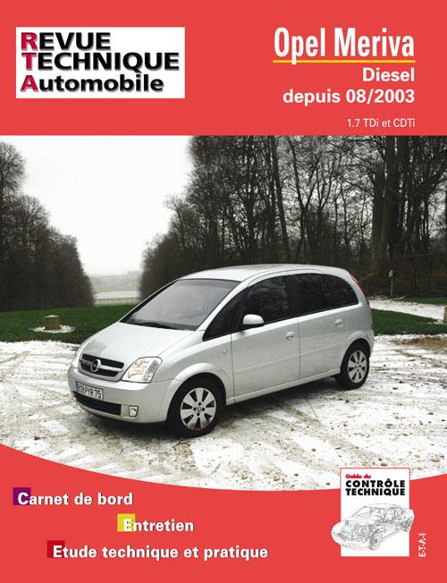 Opel Meriva depuis 2003 (RTA681)