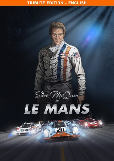 Steve McQueen in Le Mans (English Version VOL1) BD