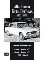 Alfa Romeo Giulia Berlinas 1962-76 Limited Edition