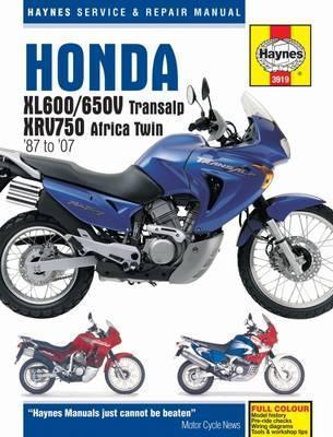 Honda XL600/650V Transalp XRV750 Africa Twin 87-07