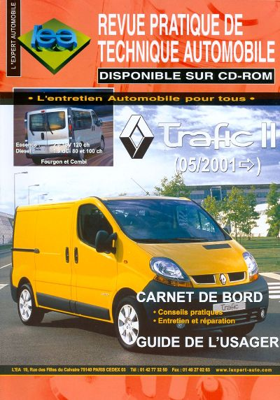 Renault Trafic II desde 05/2001  (RTA TAP412)