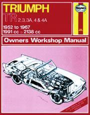Triumph TR2, TR3, TR3A, TR4 & TR4A 1952-67