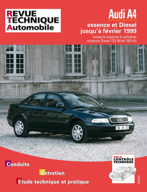 Audi A4 Ess/TDI 1995-99 (RTA581)