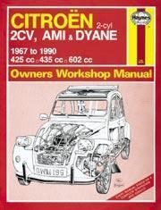 Citroen 2CV, Ami, Dyane 1967-90
