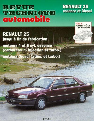Renault 25 Gasolina e Diesel fin fabric  (RTA730)