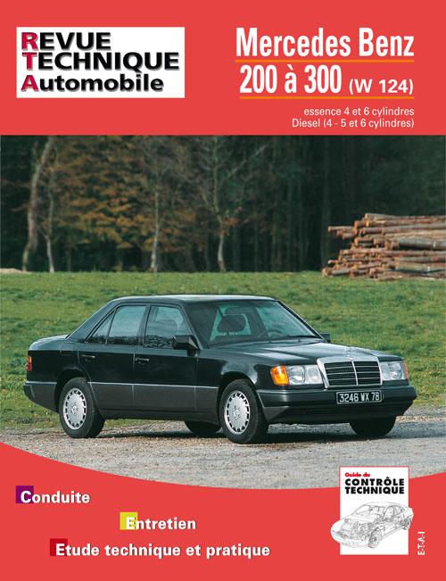 Mercedes 200 a 300 W124 Ess et D 1985-94 (RTA727)