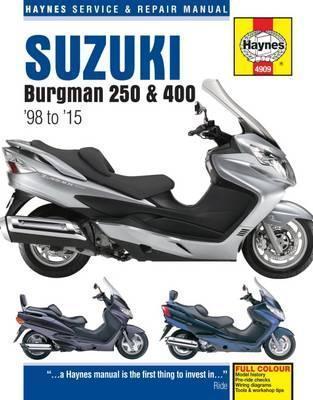 Suzuki Burgman 250 & 400 1998-15