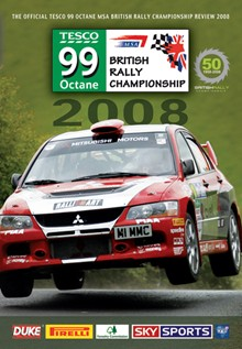 British Rally Champioship 2008 (DVD)