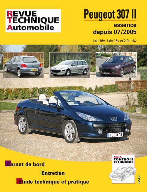 Peugeot 307 II/ CC 2005- Gasolina 1.4/1.6/2.0 B714