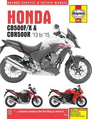 Honda CB500F/X & CBR500R 2013-15