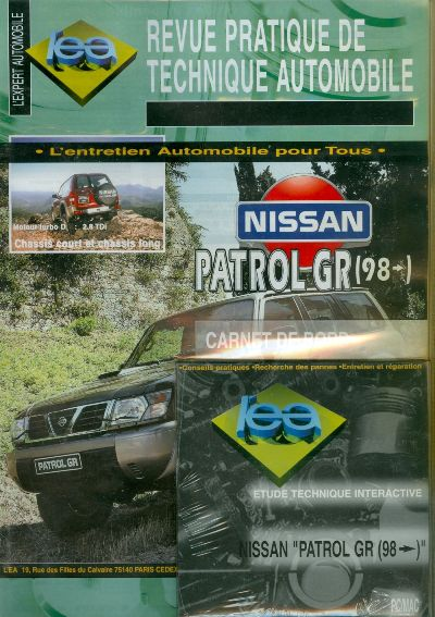 Nissan Patrol GR desde 1998 (RTATAP376) CD
