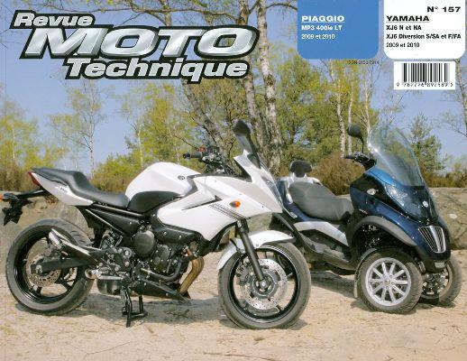 F157 Piaggio MP3 400 Yamaha XJ6