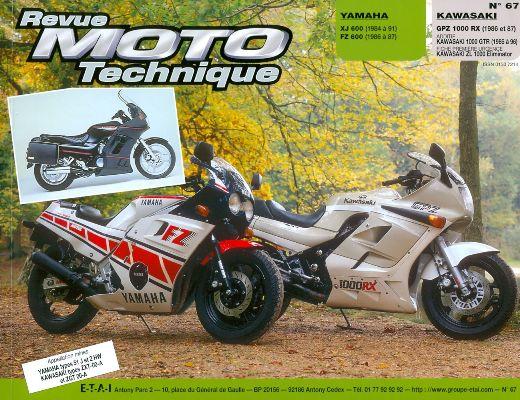 F067 Yamaha XJ 600FZ 600 1984-91 Kawasaki GPZ1000