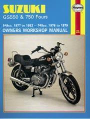 Suzuki GS 550 & GS750 4-Valve Fours 1976-79