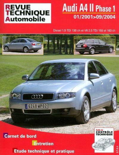 Audi A4 2001- 1.9 + 2.5 Tdi (RTA B730)