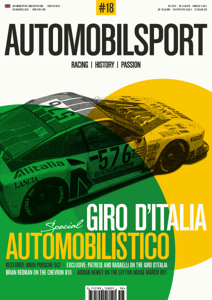 Giro d'Italia Automobilis (Vol. 18 Automobilsport)