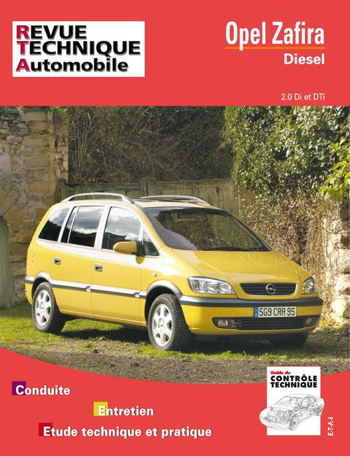 Opel Zafira Diesel 2.0 Di e Dti (RTA633)
