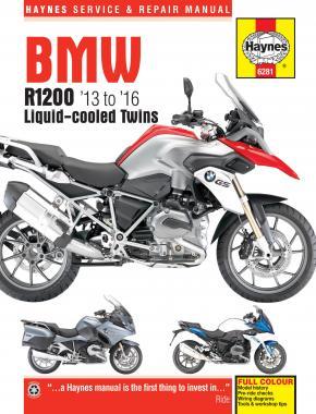 BMW R1200 DOHC liquid-cooled Twins 2013-2016