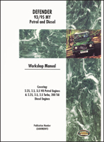 Land Rover Defender 1993-95 Workshop Manual