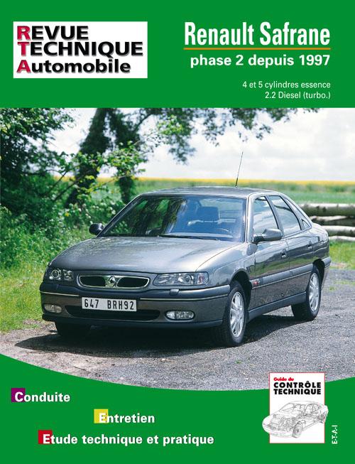 Renault Safrane Essence/D/TD depuis 1997 (RTA617)