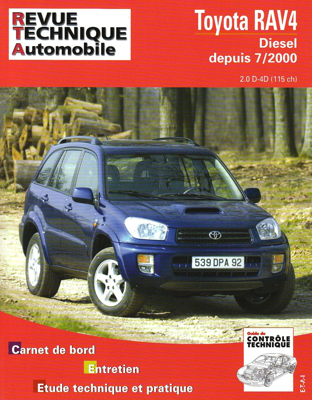 Toyota Rav 4 Diesel 2000- (RTA662)