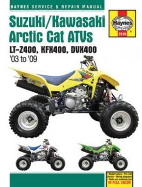 Suzuki/Kawasaki Arctic Cat ATVs 2003-09