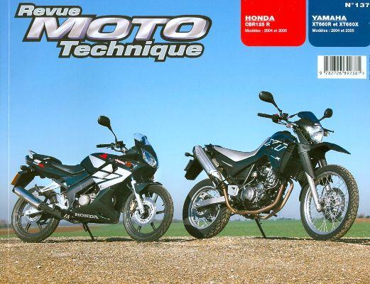 F137 Honda CBR 125 04-05 Yamaha XT600R 2004-05