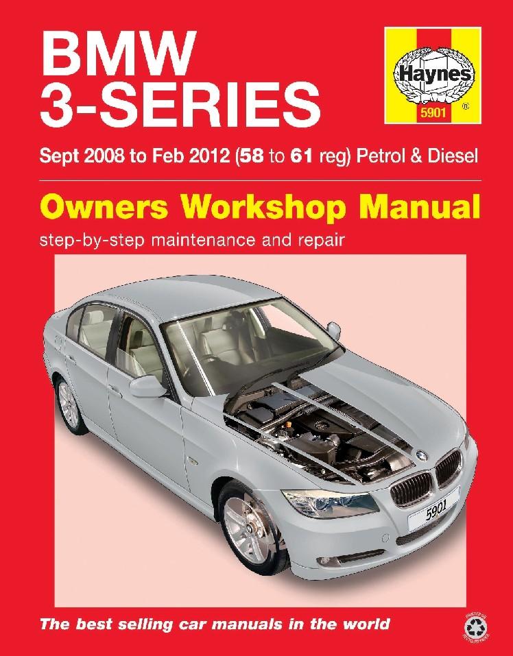 Bmw 3 Series Petrol & Diesel 2008-2012