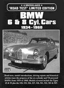 Bmw 6 & 8 Cylinder Cars 1934-60 Limited Edition