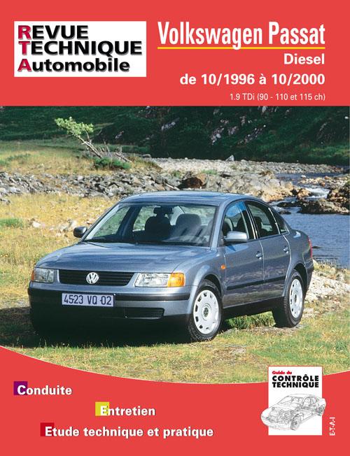 VW Passat D 1996-2000 TDi 90-110-115 ch (RTA625)