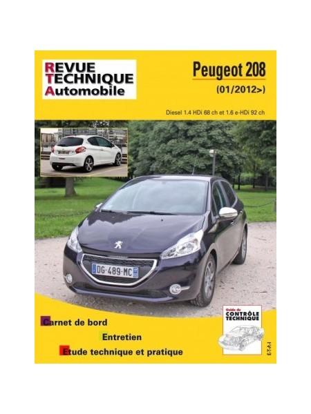 Peugeot 208 2012-13 1.4 HDI / 1.6 HDI (RTAB787)