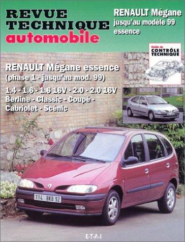 Renault Megane e Scenic Essence 1996-99 (RTA593)