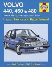 Volvo 440, 460 & 480 1987-97