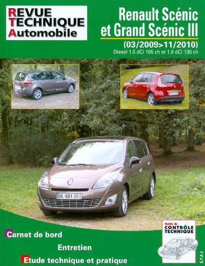 Renault Scenic et Grand Scenic III 2009-10 RTAB756