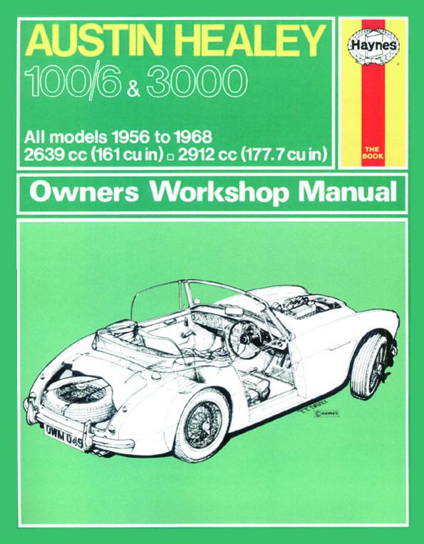 Austin Healey 100/6 & 3000 1956-68