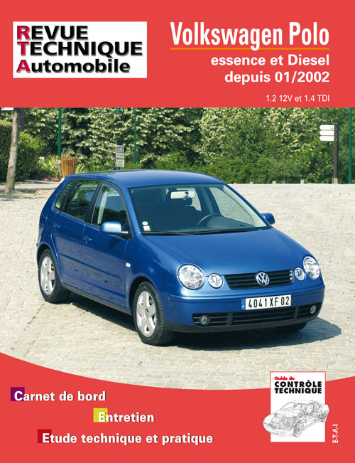 Volkswagen Polo 1.2 Gas + 1.4 TDI 2002- (RTA683)