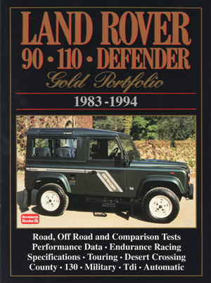 Land Rover 90 &110 Defender Gold Portfolio 1983-94