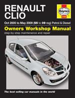 Renault Clio Petrol & Diesel 2005-2009