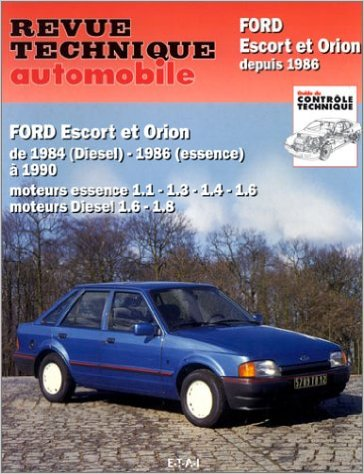 Ford Escort, Orion Gasolina/D 1984-1990 (RTA736)