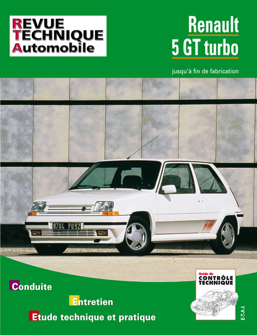 Renault 5 GT Turbo 1985-92 RTA464