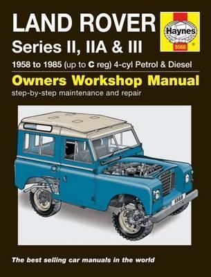 Land Rover Series II, IIA & III  P & D (1958-1985)