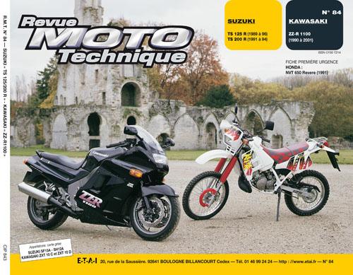 F084 Suzuki TS125-200 89-96 Kawasaki ZZR1100 90-01