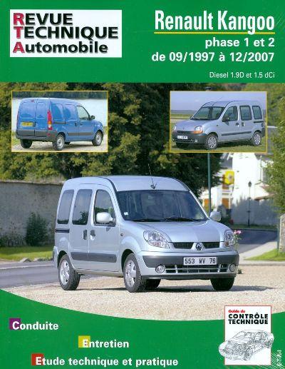 Renault Kangoo Diesel 1997-2007 (RTA101)