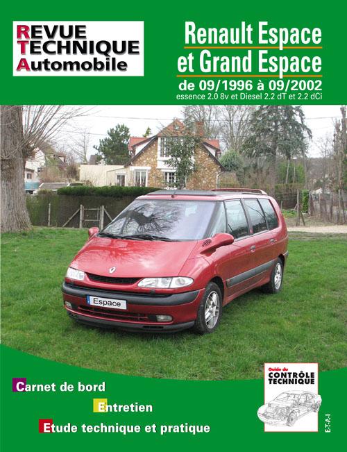 Renault Espace Ess/D/TD 1996-2002 (RTA603)