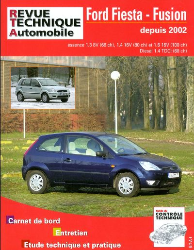 Ford Fiesta/Fusion aprés 04/2002 (RTATAP416)
