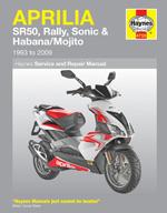 Aprilia SR50, Rally, Sonic & Habana/Mojito 1993-09