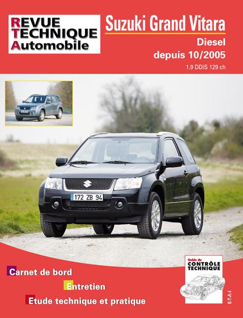 Suzuki Grand Vitara 2006- Diesel 1.9 DDIS (RTAB717