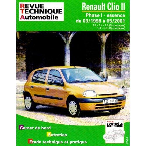 Renault Clio II Essence depuis 03-1998 (RTA620.1)