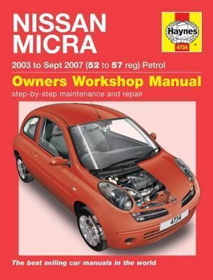 Nissan Micra Petrol 2003-10