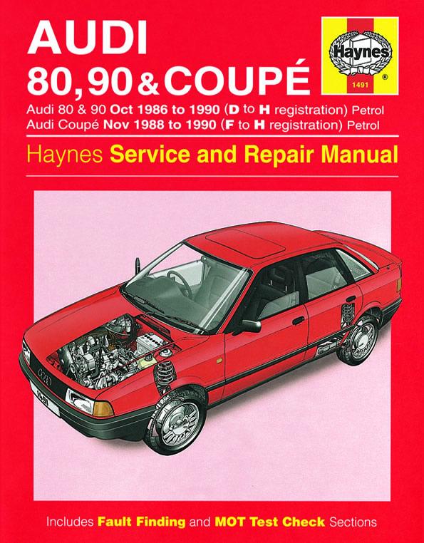 Audi 80, 90 ( 1986-90 ), Coupe ( 1988-90 )